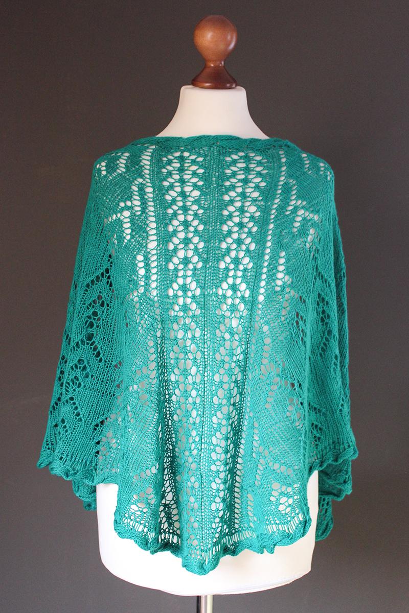 Reichraming shawl knitting pattern