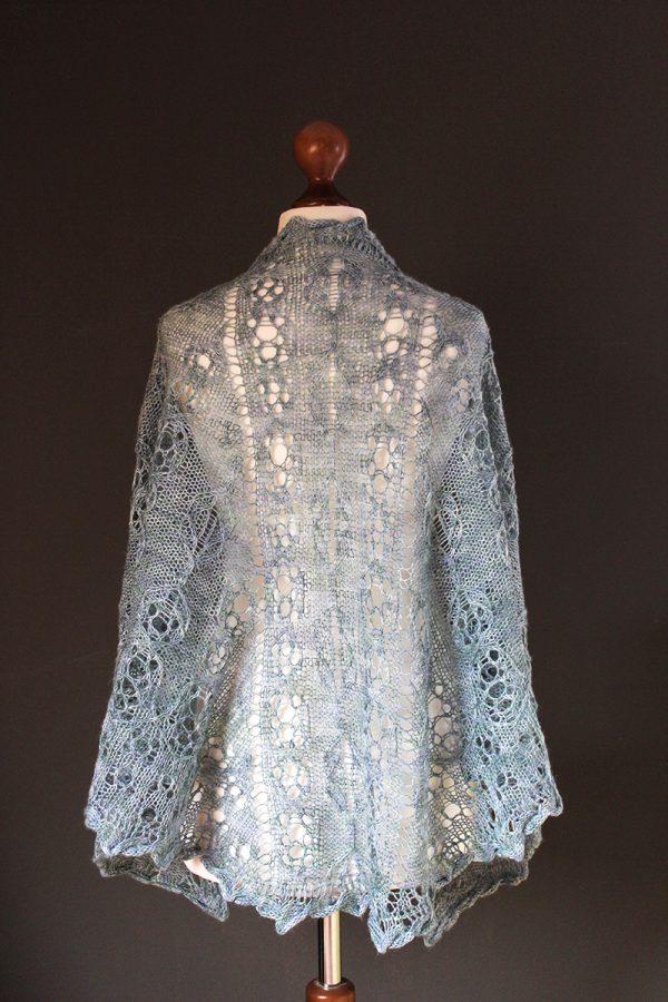 Attersee shawl knitting pattern