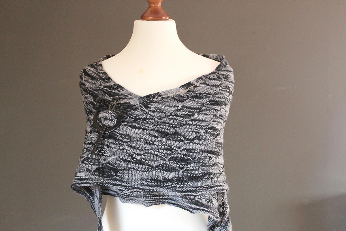 Men in Shawls: the Sing it Back shawl knitting pattern