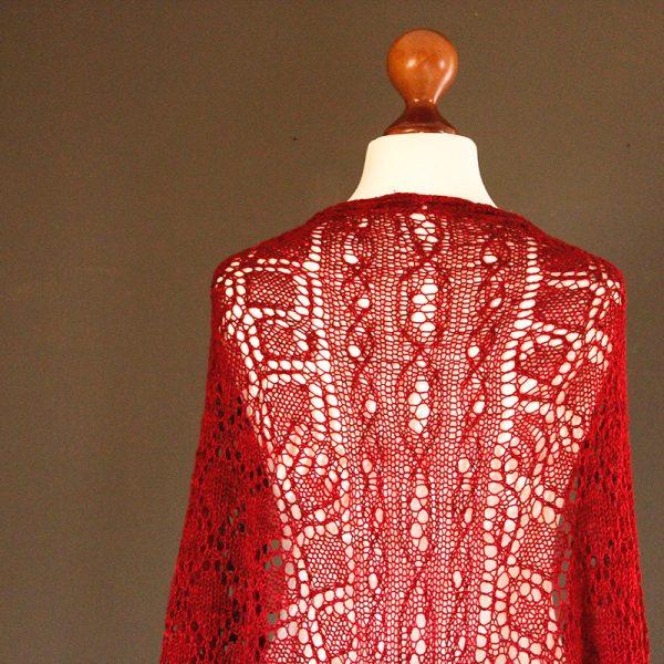 Alpine Shawls - Grossraming shawl knitting pattern