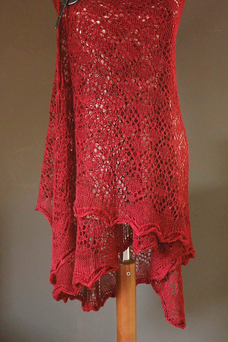 Alpine Shawls - Grossraming shawl knitting pattern