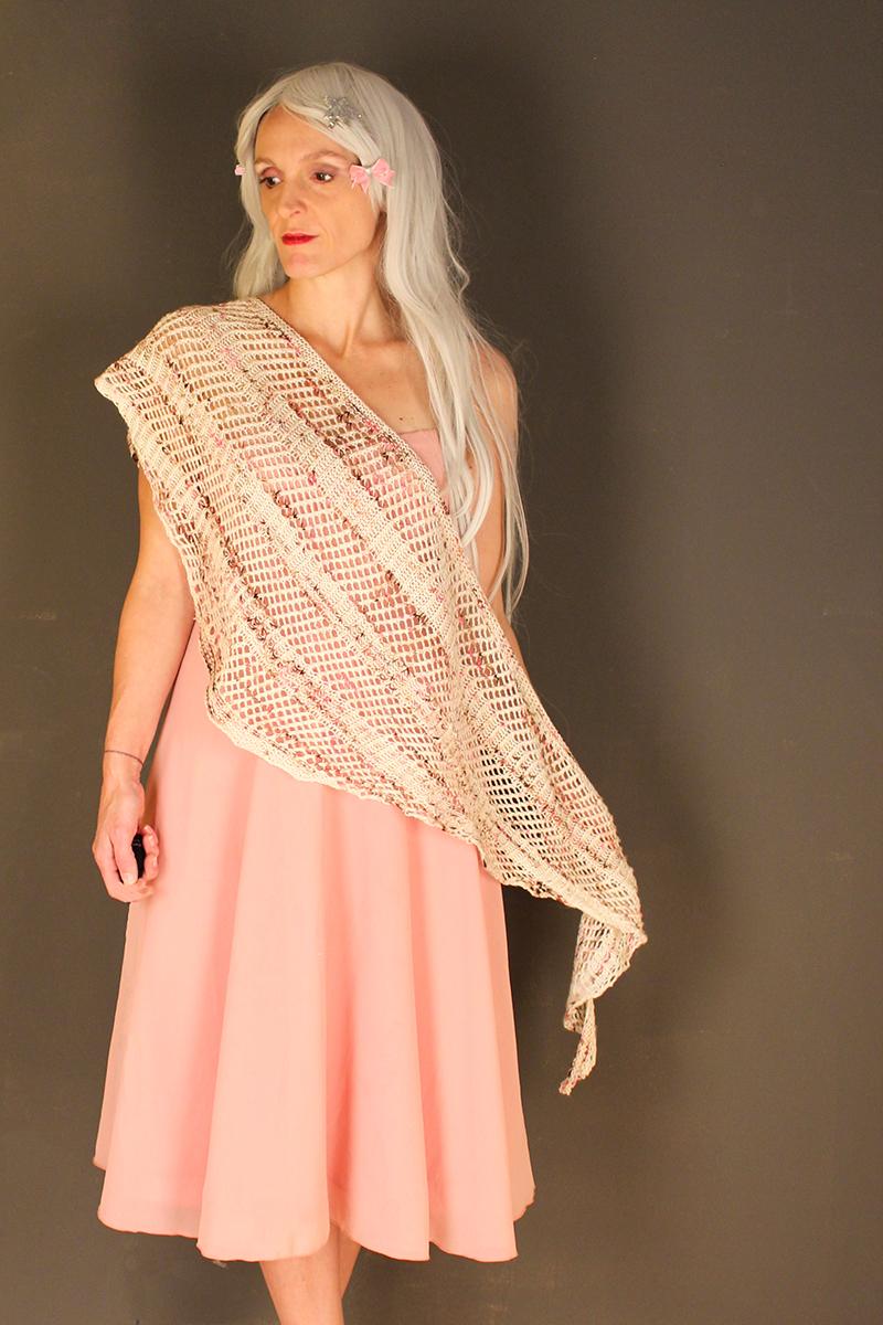 Baby Unicorn shawl knitting pattern