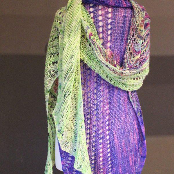 Rapture Unicorn Shawl Knitting Pattern Release