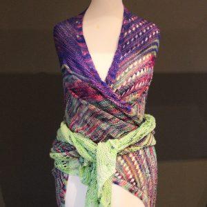 Happy Unicorn Shawl Knitting Pattern Release