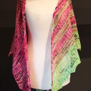 Empress Unicorn Shawl Knitting Pattern Release