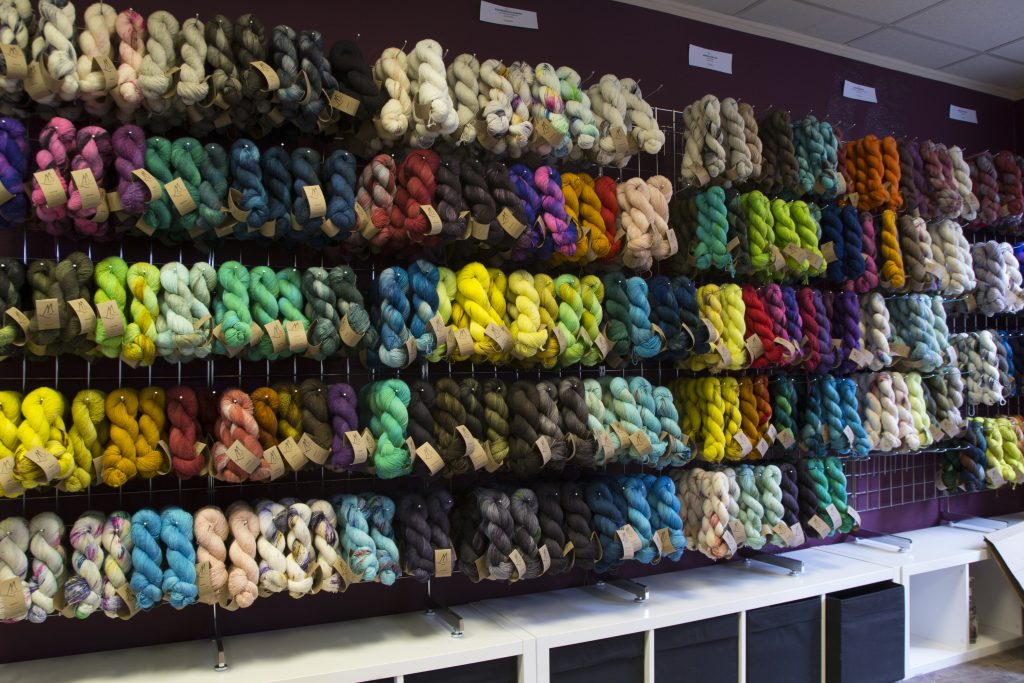 Mondschaf Yarns studio