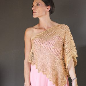 Golden Triangle shawl