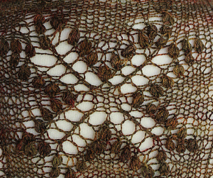 Estonian Lace Knitting in a Nuppshell