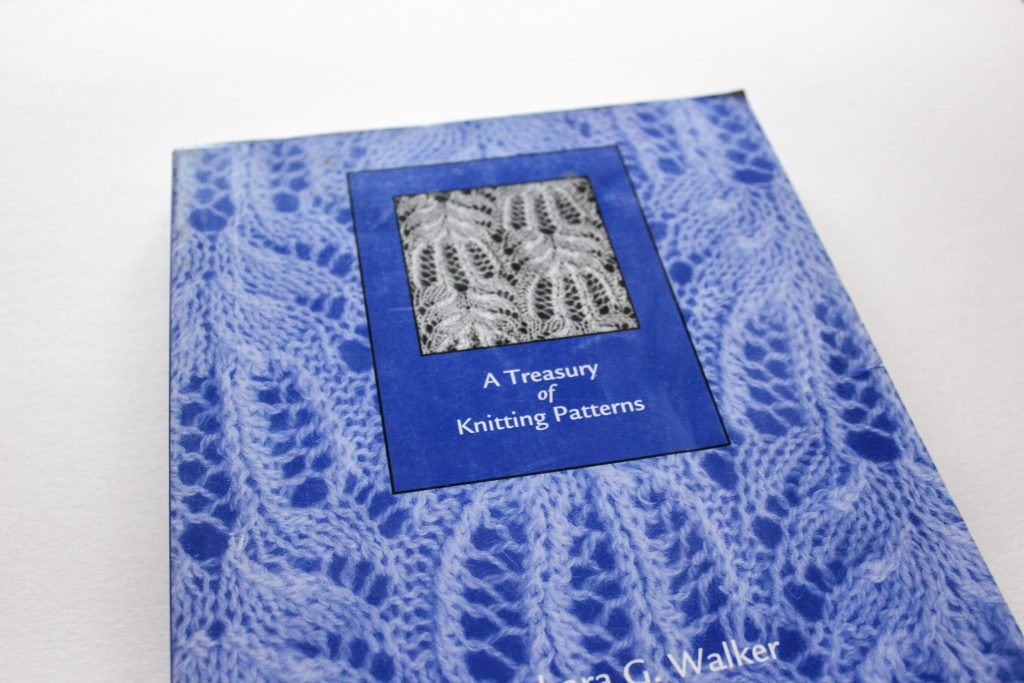Lace knitting stitch patterns and how to find them
