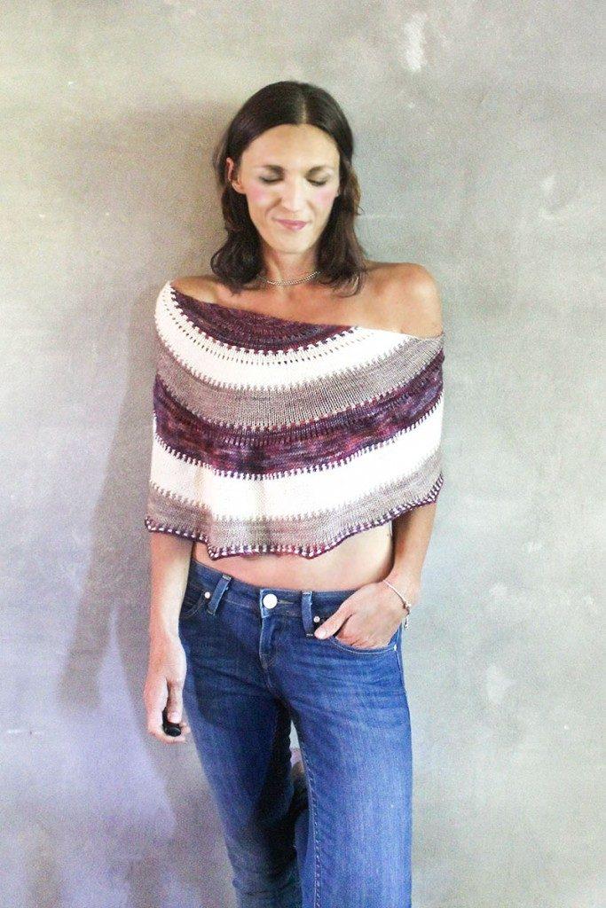 Phoebe crescent shawls