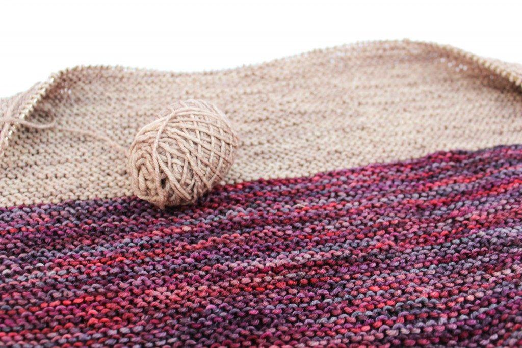 garter stitch shawls