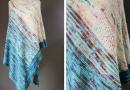 Lazy Unicorn shawl knitting pattern