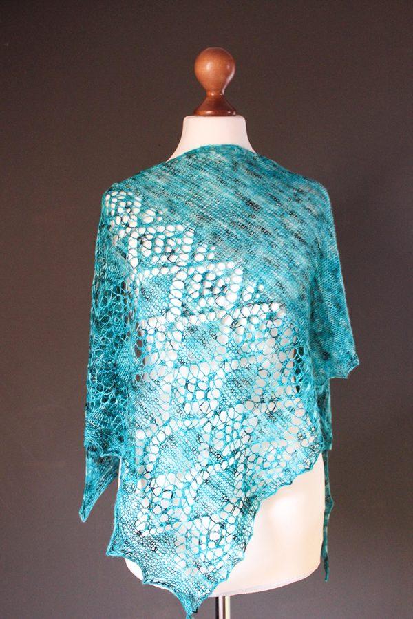 Wise Enough shawl knitting pattern
