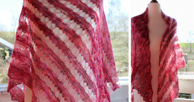 Meet the Love Pink shawl!
