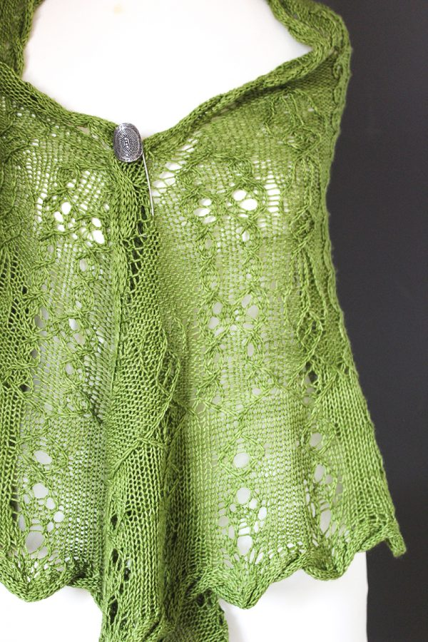 Steyrtal shawl knitting pattern