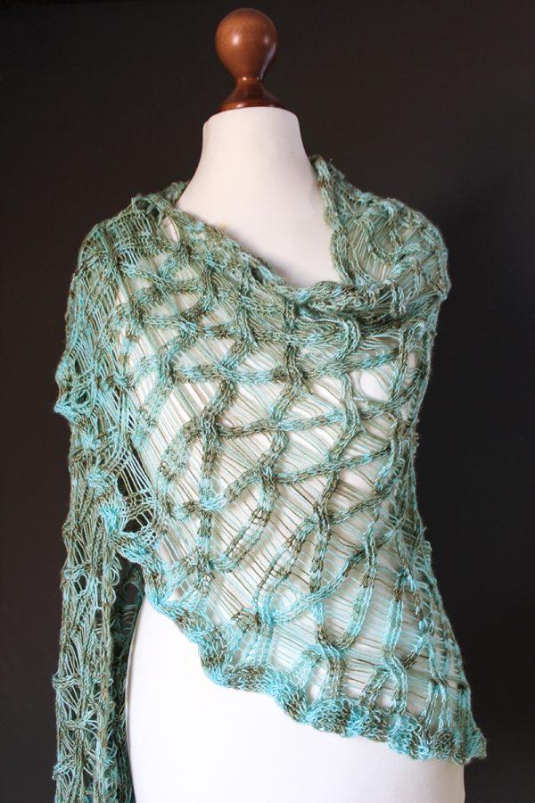 Magic Unicorn Shawl knitting pattern