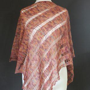 Nobody shawl knitting pattern