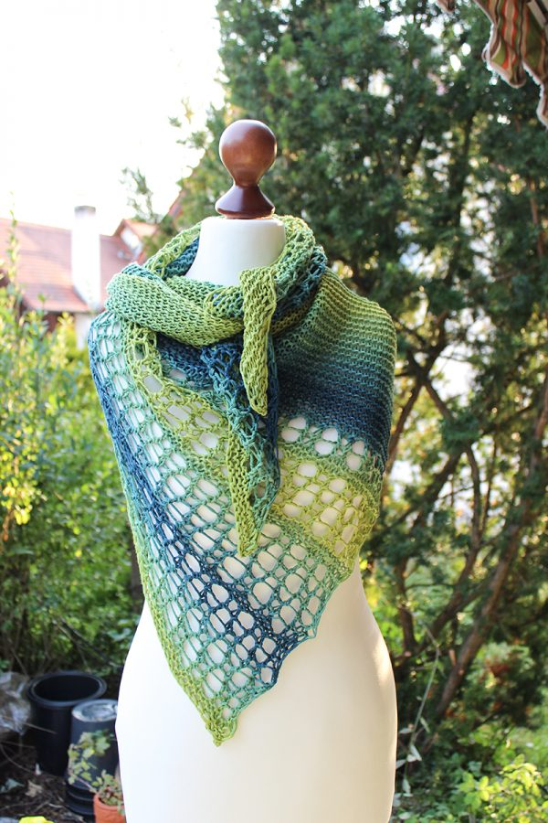 Water Lines shawl