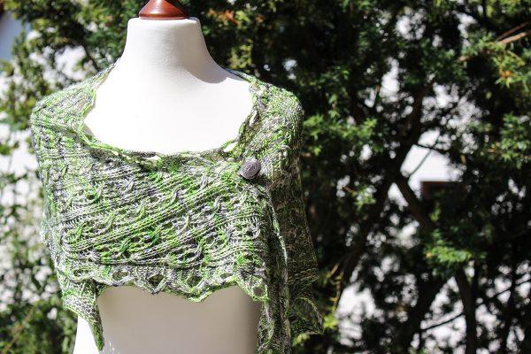 Allegra shawl