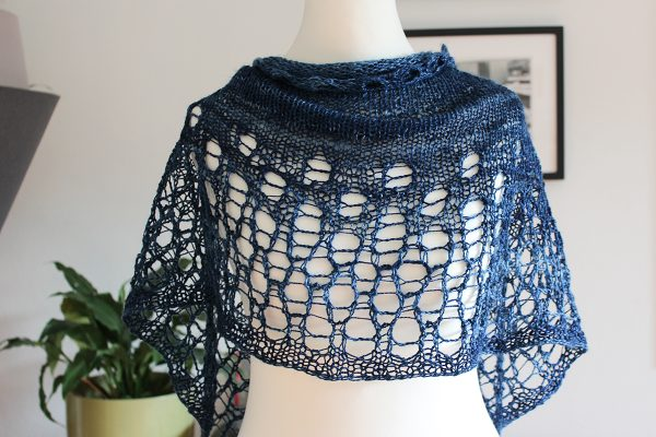 Milk Silk shawl by Julia Riede