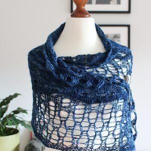 Milk Silk shawl by Julia Riede