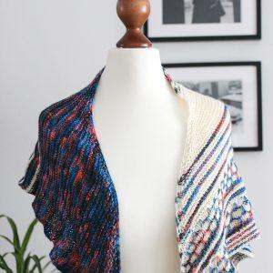 Color Blocking II shawl by Julia Riede