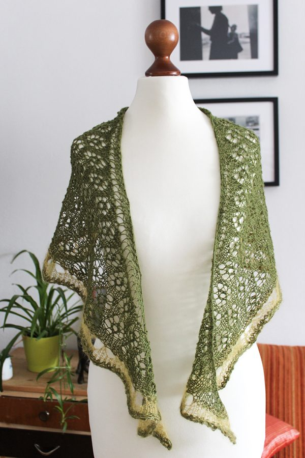 Springtime Shawl by Julia Riede