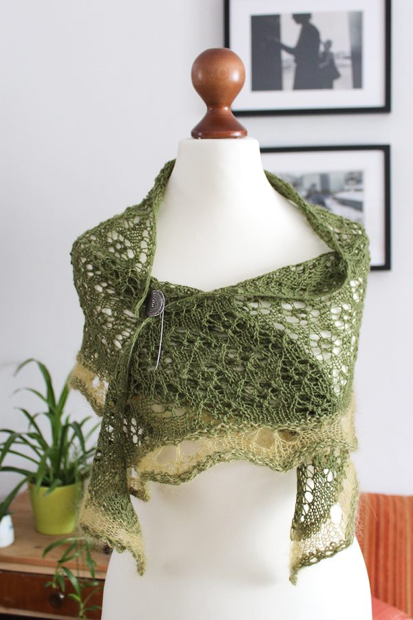 Springtime Shawl by Julian Riede