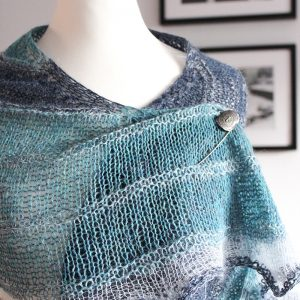 Enjoy The Ride Shawl by Julia Riede