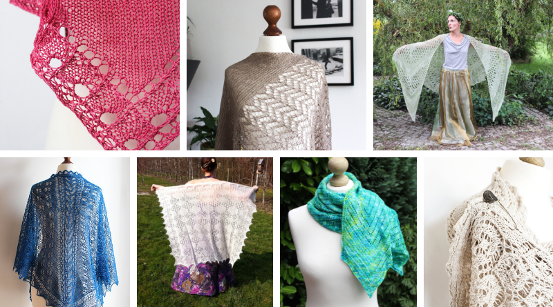 Shawl Design in Plain English 2019: Patterns
