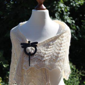 Ostracion Turritis shawl knitting pattern