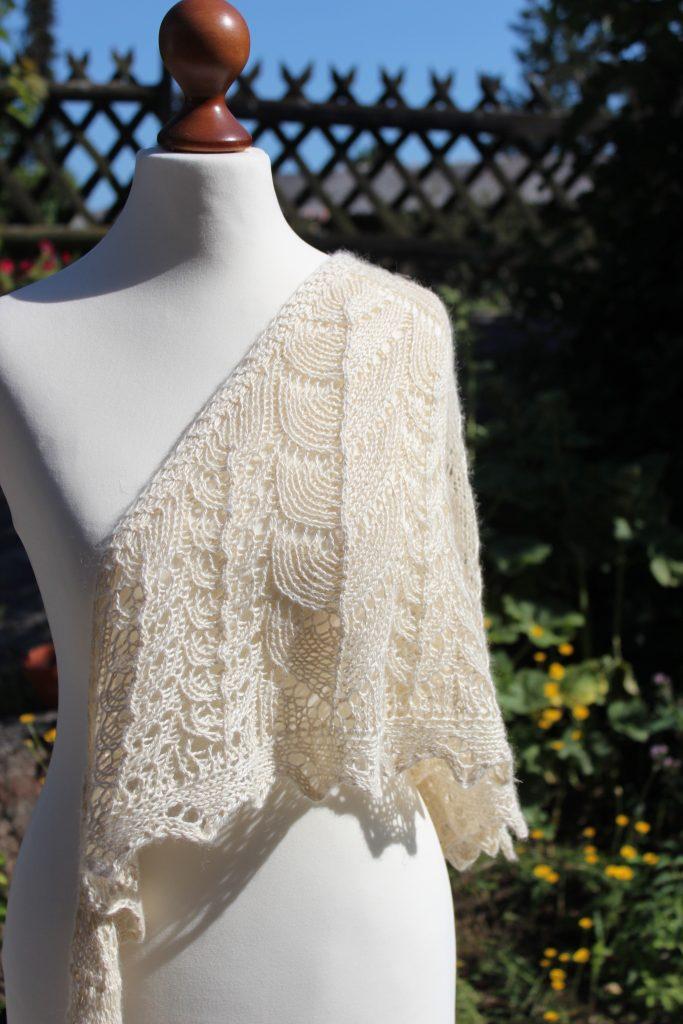 Ostracion Turritis shawl knitting pattern release