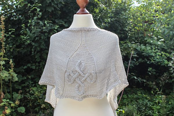 Undosa Undulata shawl knitting pattern