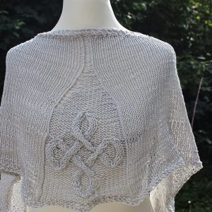 Undosa Undulata shawl knitting pattern