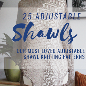 Twenty-Five Adjustable Shawls pattern collection