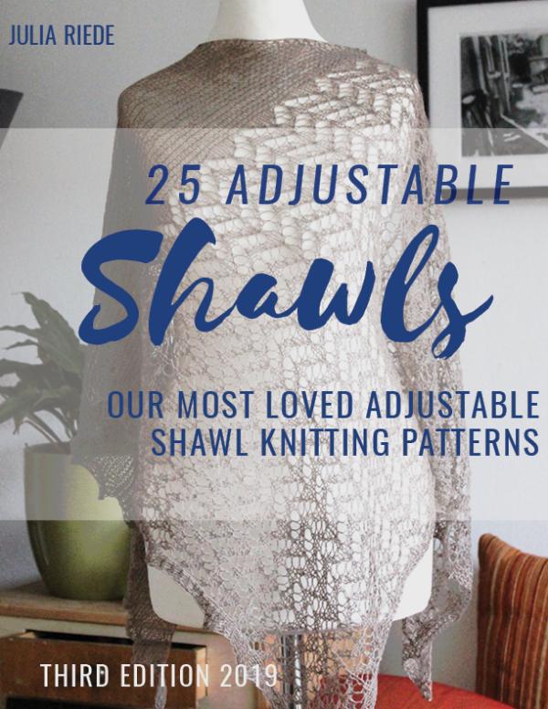 Twenty-Five Adjustable Shawls pattern collection