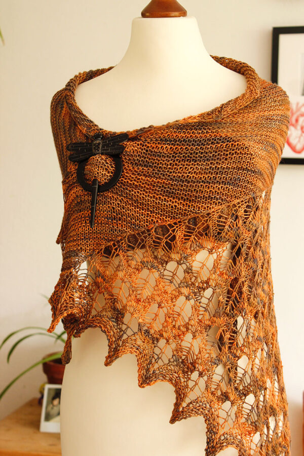 When September Ends shawl knitting pattern
