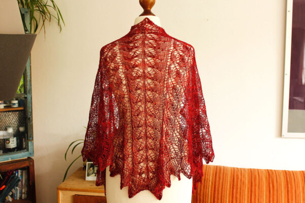Virgin State of Mind shawl knitting pattern