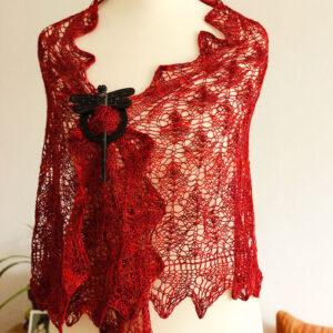 Virgin State of Mind shawl knitting pattern