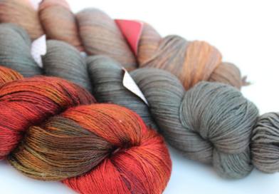 Four Seasons of Shawls - Autumn Yarn